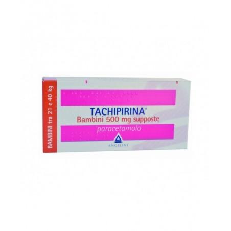 Tachipirina Bambini 500 mg - analgesico antipiretico 10 supposte
