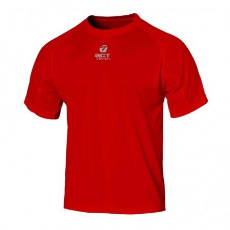t-shirt maglia manica corta colore red taglia-xl