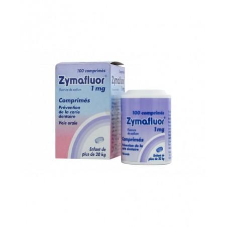 Zymafluor 1 mg - prevenzione della carie dentaria 100 compresse