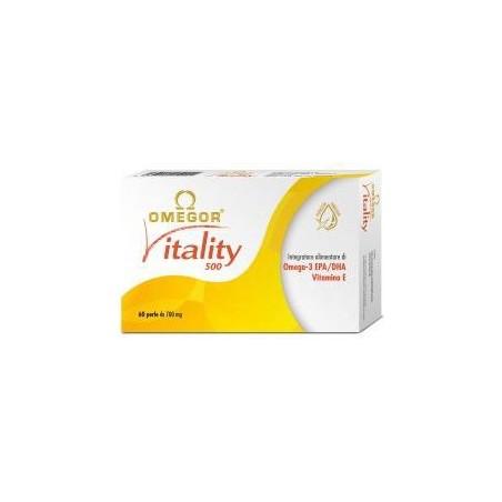 Integratore Alimentare Per Il Controllo Dei Trigliceridi Vitality 500 60 Perle