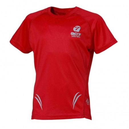 shirt maglietta bambini manica corta colore rosso-taglia 12 anni