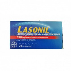 lasonil antinfiammatorio e antireumatico 220 mg 24 compresse