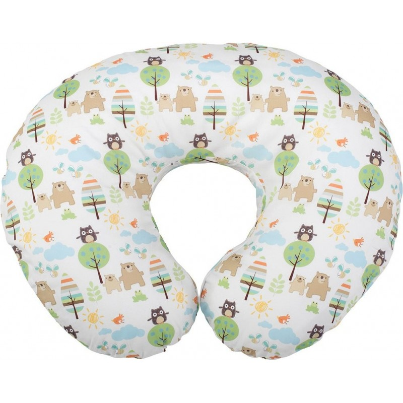 boppy cuscino per allattamento in cotone colore honey bear beige