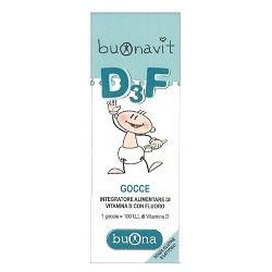 buonavit d3f 12 ml - integratore per bambini