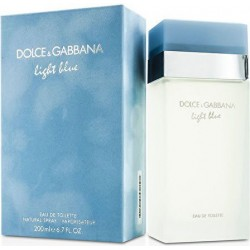 light blue - eau de toilette donna edt  200 ml vapo