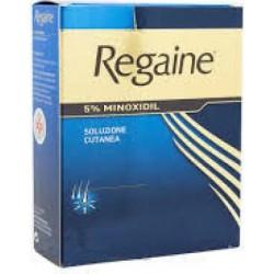 Regaine 5% Soluzione - trattamento dell'alopecia 60 ml