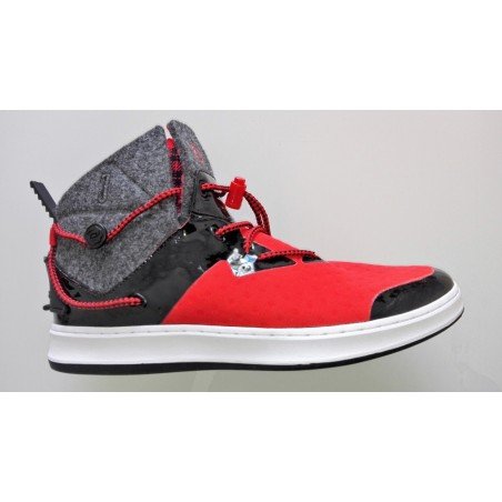 D rose lakeshore 2 - scarpe da basket uomo black /red eu 42 2/3 uk 8.5