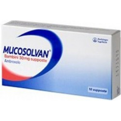Mucosolvan 30 mg bambini - mucolitico 10 supposte