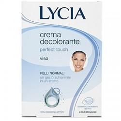 Perfect Touch - 8 Dosi Monouso di Crema decolorante per viso (Confezione Ammaccata)