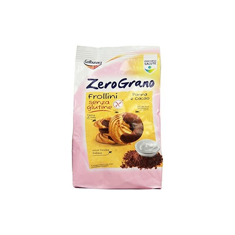 Zerograno Frollino senza Glutine Panna e Cacao 300 g