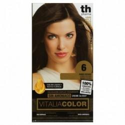 vitalia color tintura per capelli  priva di  ammoniaca n. 6 biondo scuro