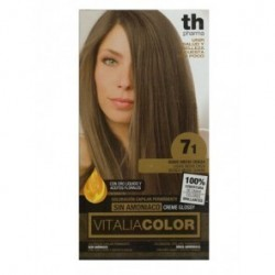 vitalia color tintura per capelli  priva di  ammoniaca n. 7-1 biondo medio cenere