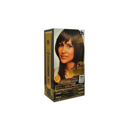 vitalia color tintura per capelli  priva di  ammoniaca n.7-23 biondo medio perla dorato