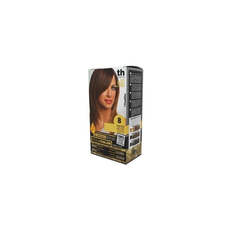 vitalia color tintura per capelli  priva di ammoniaca n. 8 biondo chiaro