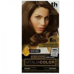vitalia color tintura per capelli  priva di  ammoniaca n. 6-31 biondo scuro dorato cenere