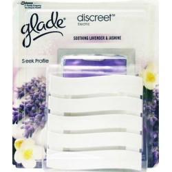 deodorante per ambienti discreet electric base + ricarica profumo assortito