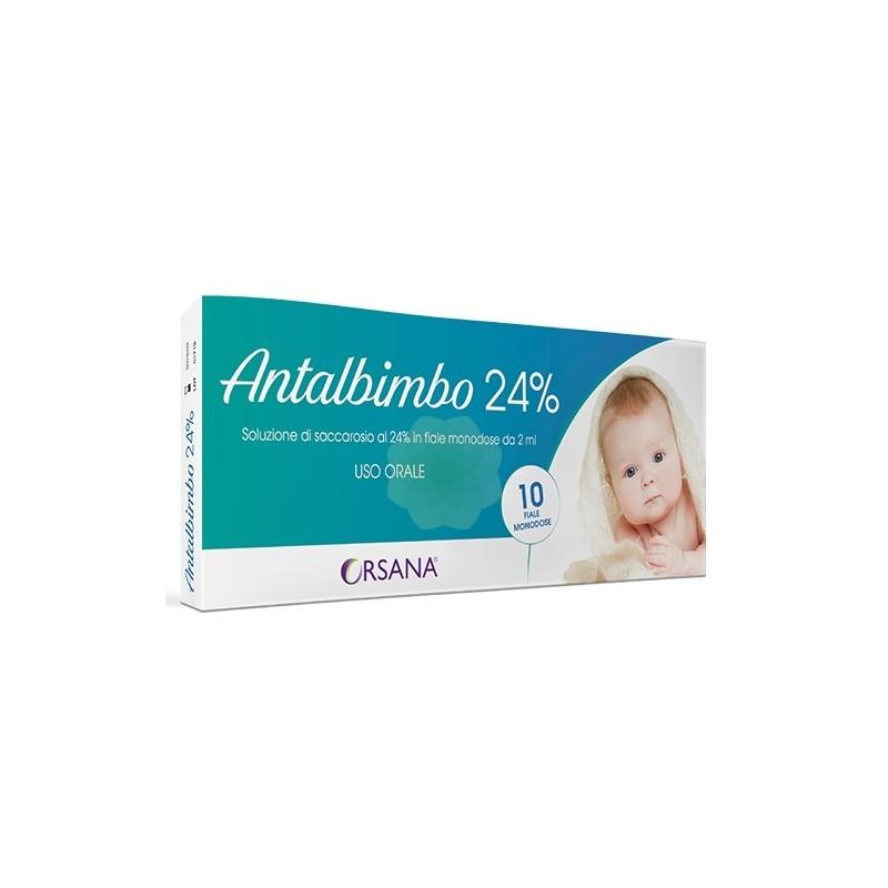 Antalbimbo Soluzione di Saccarosio al 24% in fiale monodose da 2 ml