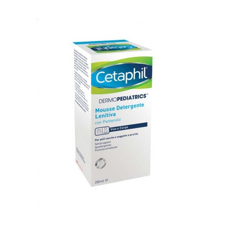 Cetaphil Dermopediatrics Mousse Detergente Lenitiva 250 ml