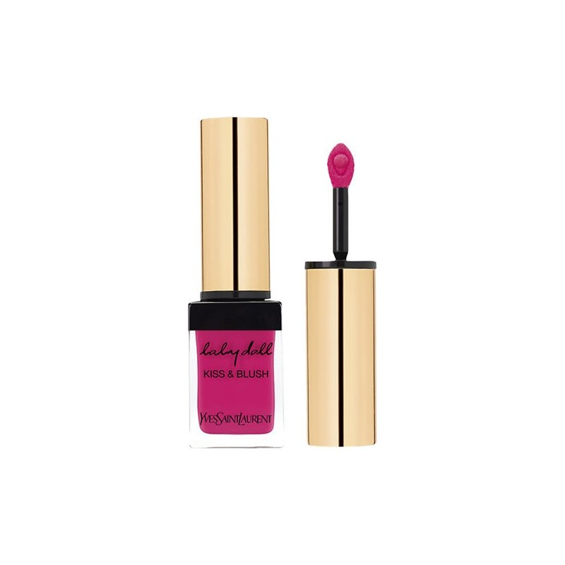 Yves Saint Laurent - baby doll kiss e blush n. 01 fuchsia désinvolte