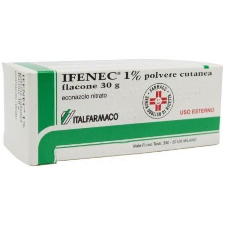 Ifenec 1% Polvere - trattamento delle micosi 30 g