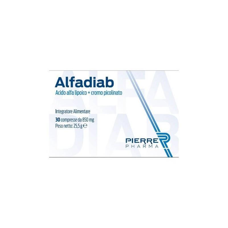 alfadiab integratore alimentare 30 compresse