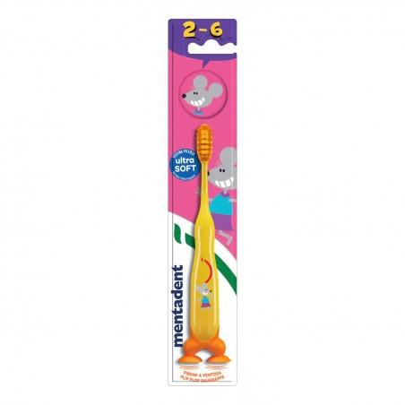 Mentadent - kids spazzolino da denti per bambini colori assortiti
