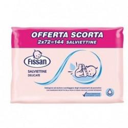 130 Salviettine Delicate per pelli sensibili (Confezione Leggermente Danneggiata)