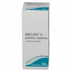 Miclast 1% Polvere Cutanea - trattamento di micosi e funghi 30 g