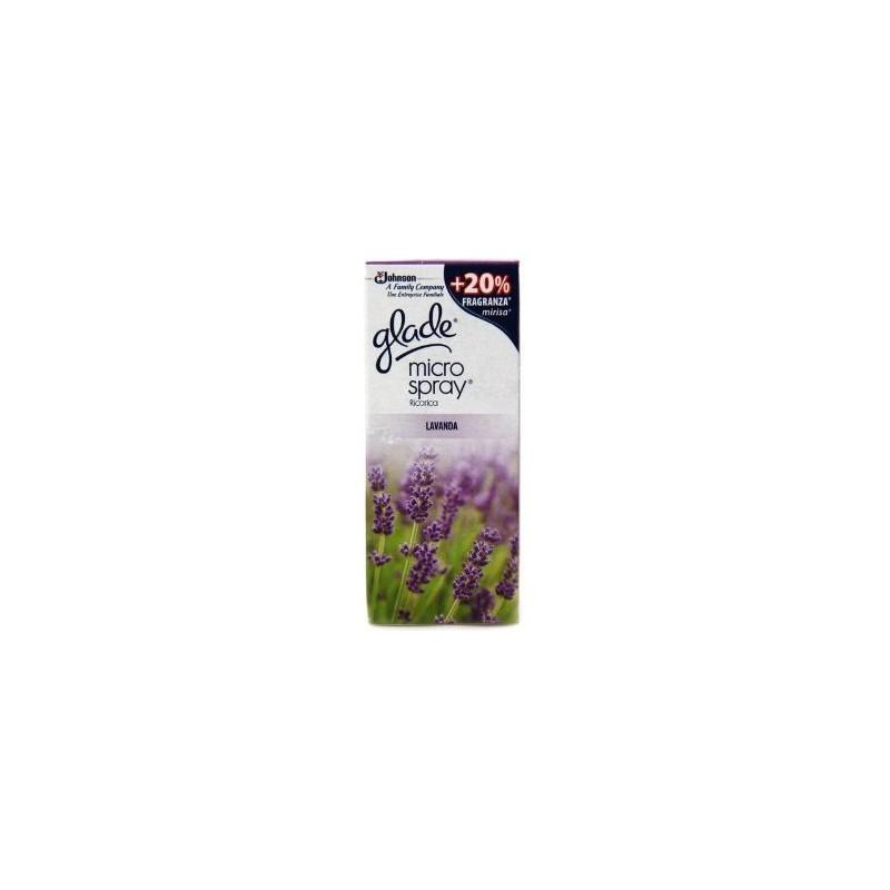 GLADE - microspray relaxing zen - ricarica deodorante per ambienti