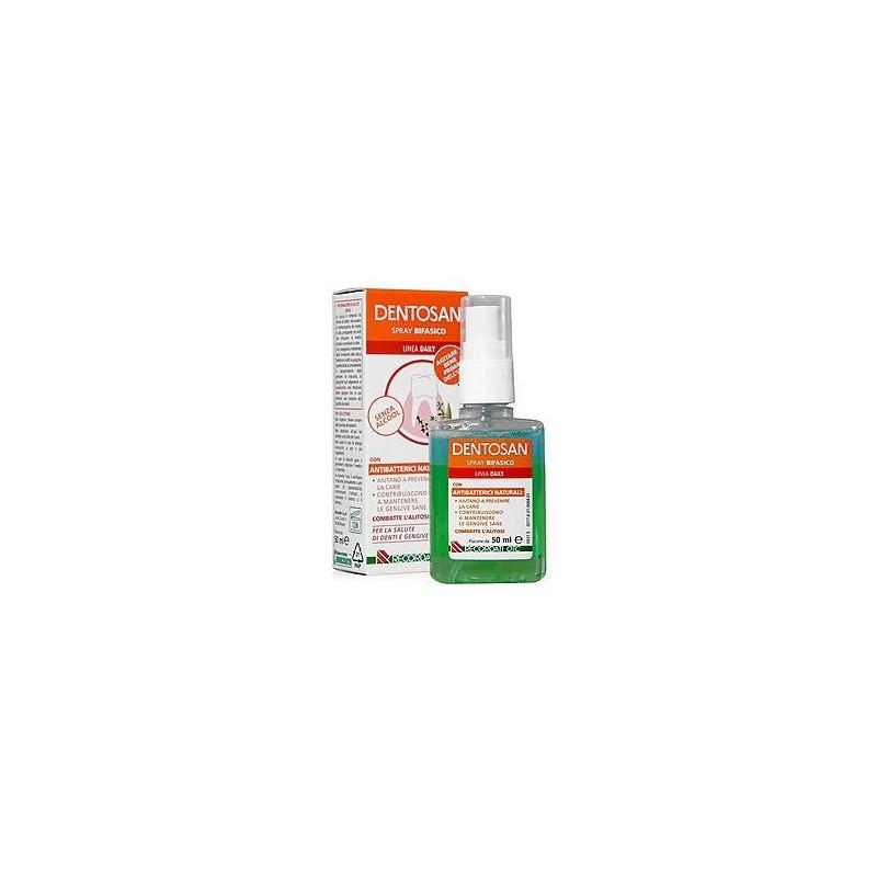 DENTOSAN - spray bifasico antibatterico naturale 50 ml