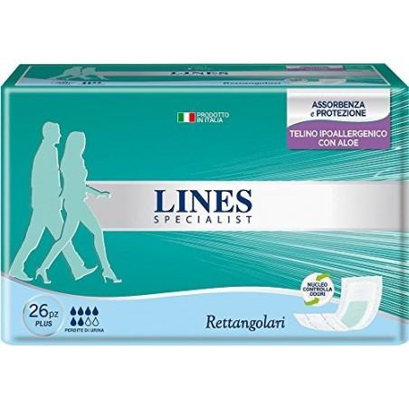 specialist pannoloni rettangolare per incontinenza 26 assorbenti