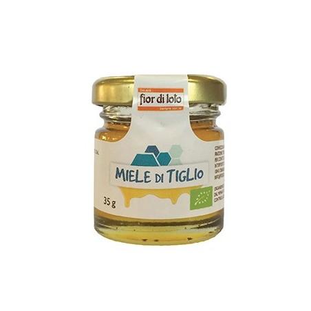 mini miele al tiglio biologico 35g