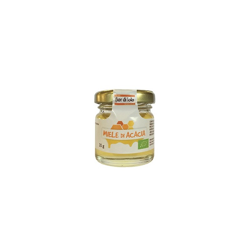 mini miele di acacia biologico 35g