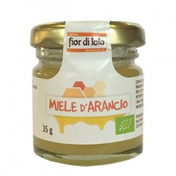 mini miele di arancio biologico 35g