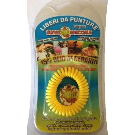 Bracciale Repellente Antizanzara Per Il Corpo Naturale Super Bracciale Scacciazanzare
