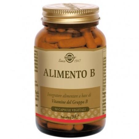 SOLGAR - alimento b 50 capsule - Integratore a base di Vitamine del Gruppo B