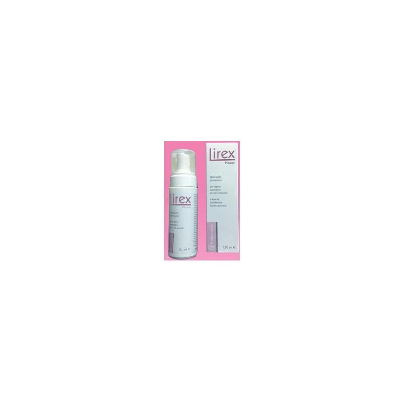 MOMAPHARMA - Detergente Intimo Per L'Igiene Delle Mucose Intime Lirex Mousse 150 Ml
