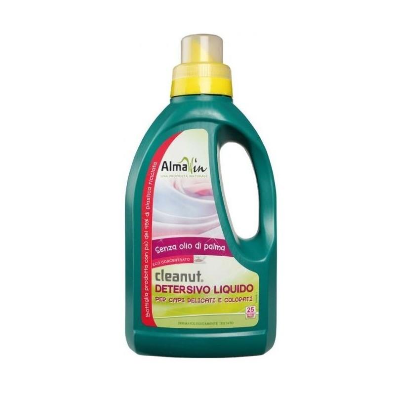 Almawin cleanut detersivo liquido per capi delicati e colorati senza olio di palma