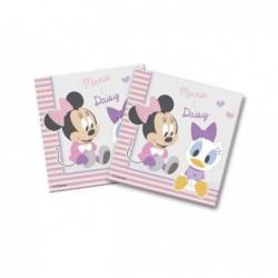 tovaglioli Baby Minnie per il primo compleanno 20 fazzoletti