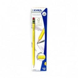 Matita Temagraph senza gommino - HB2 12 matite
