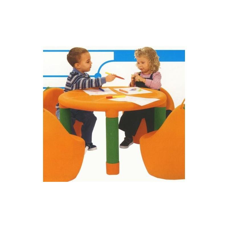 Chicco - tavolo arancia gioco per bambini 2 anni +