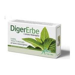 Integratore Alimentare Utile Alla Funzione Digestiva Digererbe 30 Tavolette