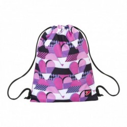 zaino sacchetto soft backpack pink hearts