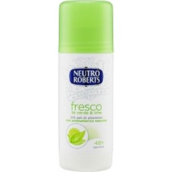 deodorante fresco tè verde e lime stick 40 ml