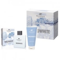 cofanetto uomo rockford wildwhite - eau de toilette 100 ml + shampoo doccia gel 100 ml