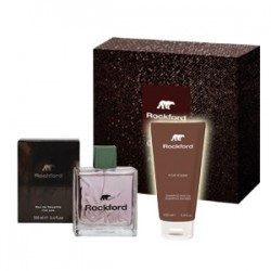 cofanetto rockford classico - eau de toilette 100 ml + shampoo shower gel 100 ml