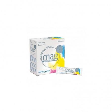 Sanofi - Mag Granulato Orosolubile 20 Bustine - Integratore Alimentare Di Minerali