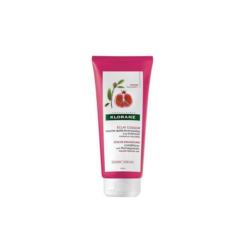 Klorane - balsamo dopo shampoo al melograno 200 ml