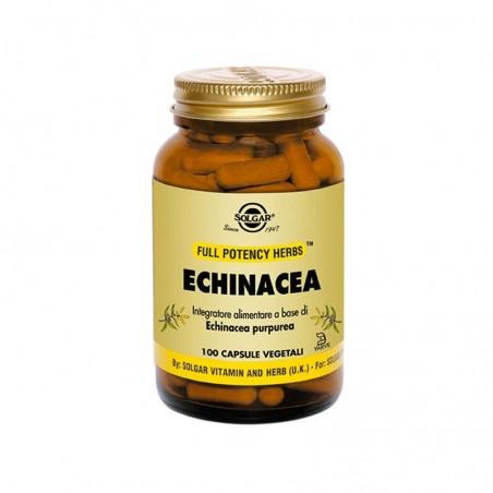SOLGAR - echinacea - integratore immunostimolante per stati influenzali 100 capsule