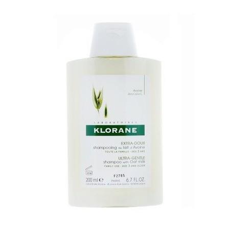 shampoo al latte di avena 200 ml